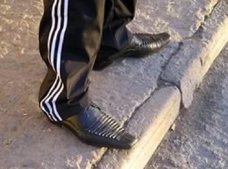 Уличная мода никого не щадит, так и хочется сказать «остановитесь»