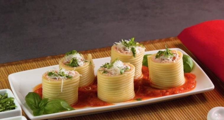 Мы так любим суши, что готовим их даже из спагетти: делюсь креативным рецептом