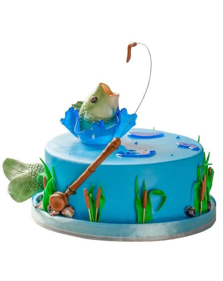 торт на тему рыбалка картинки личного архива сегодня