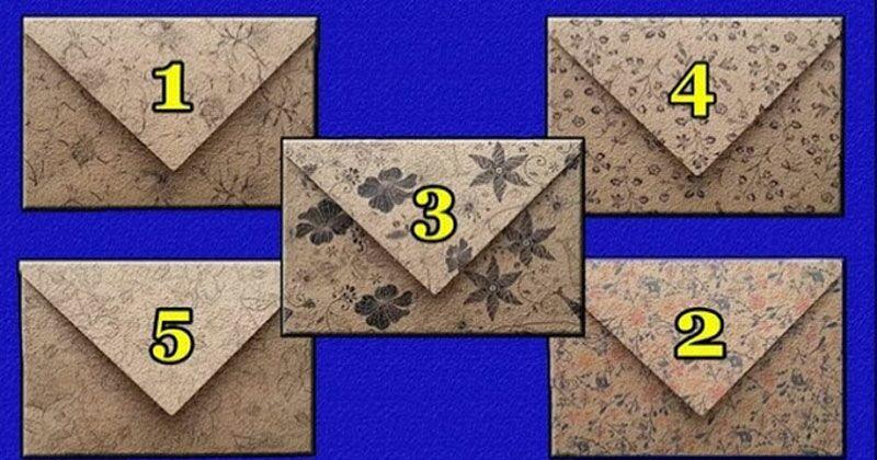 Выбери конвертик и узнай что тебя ждет