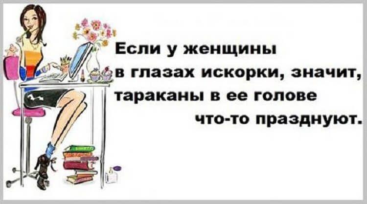 Женская логика непобедима — очень смешной диалог девушки с мозгом)))