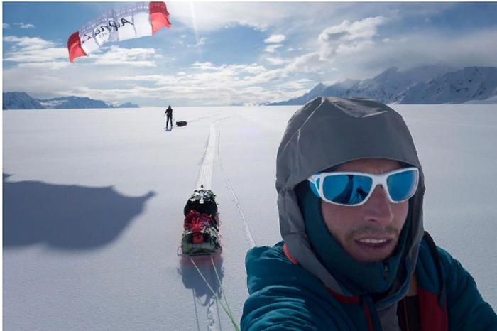 Новый проект рекордсмена исследователя Борге Оусланда: он отслеживает резкое таяние двадцати крупнейших ледяных шапок мира,путешествуя по ним