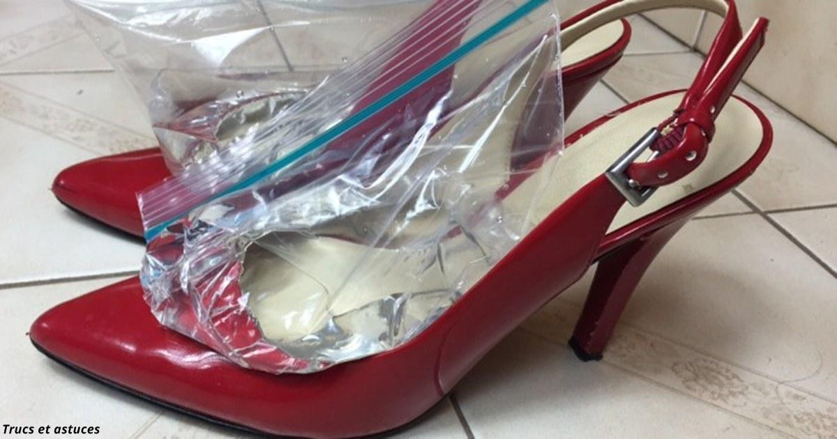 Вот как растянуть туфли, которые жмут и натирают