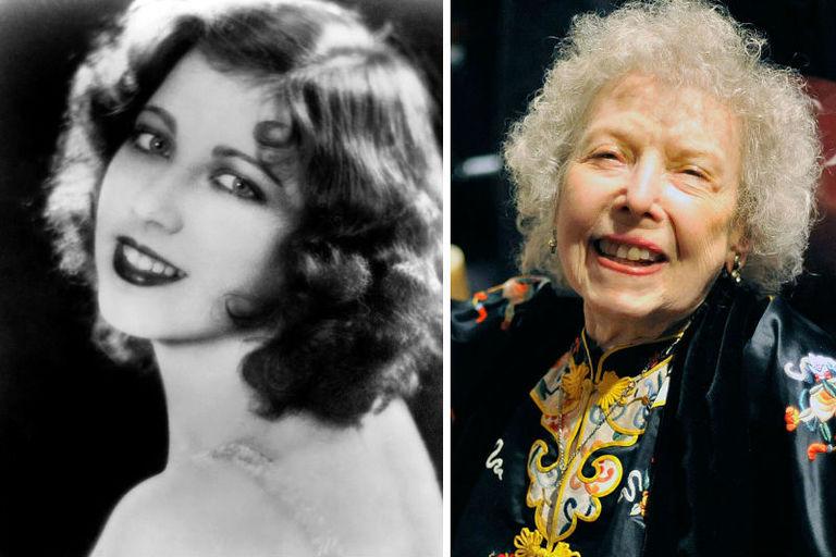 Звезды времен начала расцвета Голливуда, которые прожили больше 100 лет