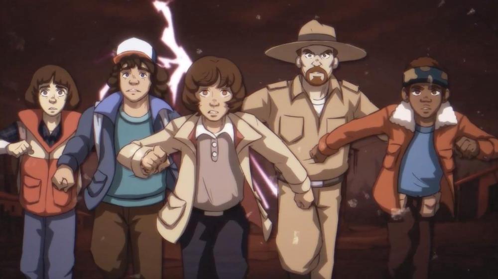 Очень странные дела : американская анимационная студия превратила популярный фильм в анимационный сериал (иллюстрации)