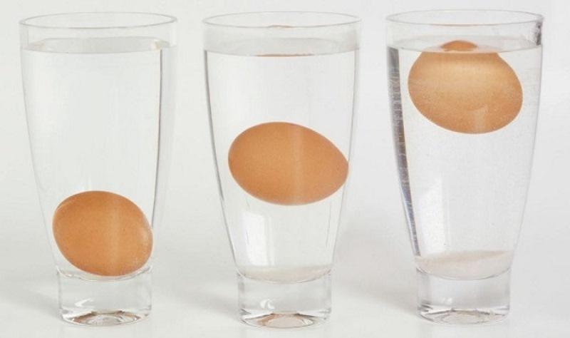 Недавно я узнала, как определить, свежие яйца или нет, и для чего лучше брать те, которые полежали несколько дней