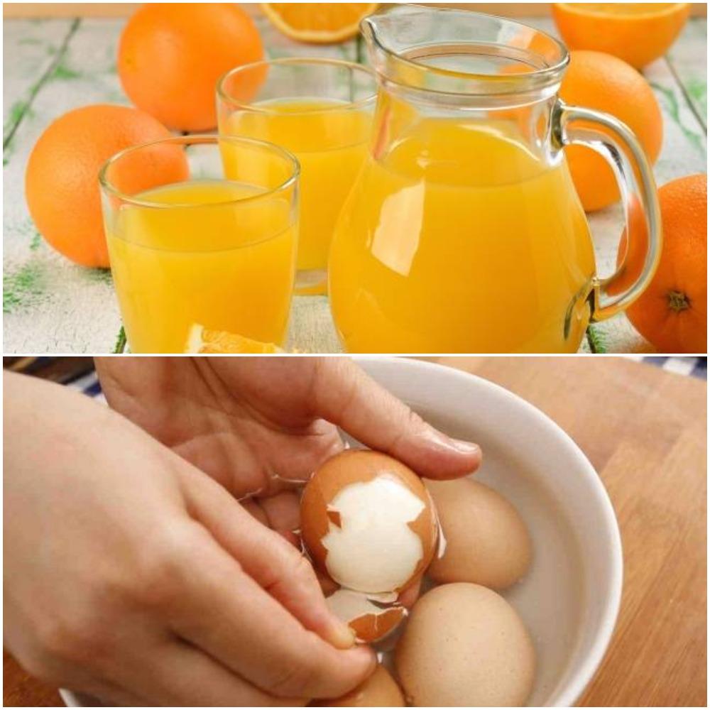 Как легко очистить яйца или апельсин: несколько простых и полезных лайфхаков, зная которые вы станете настоящей королевой на кухне