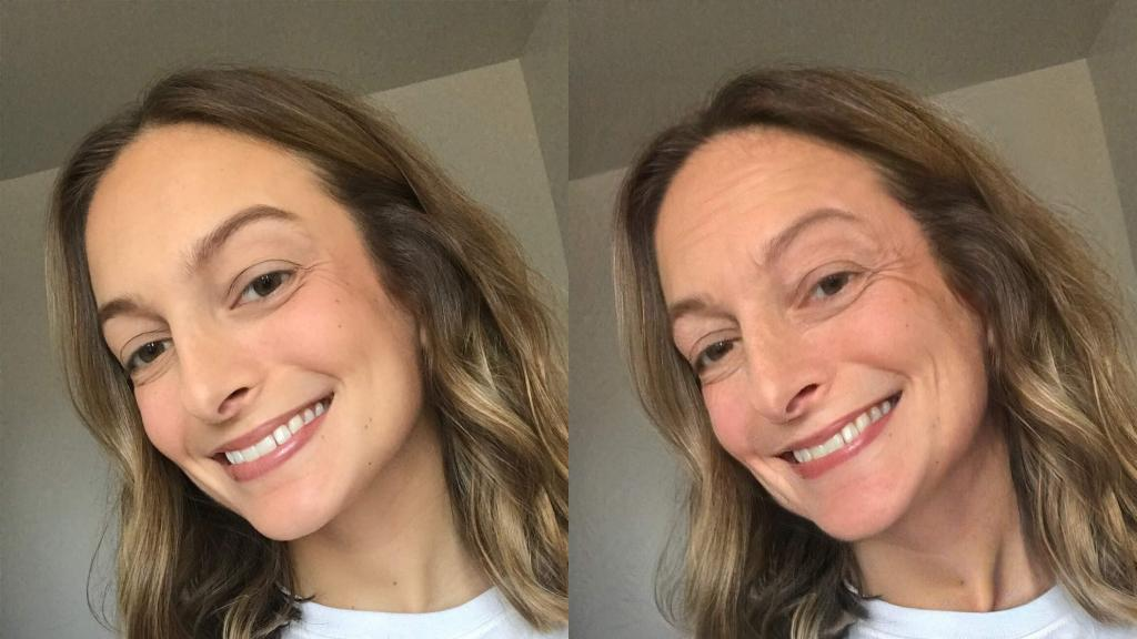 Состарить лицо на фото приложение для