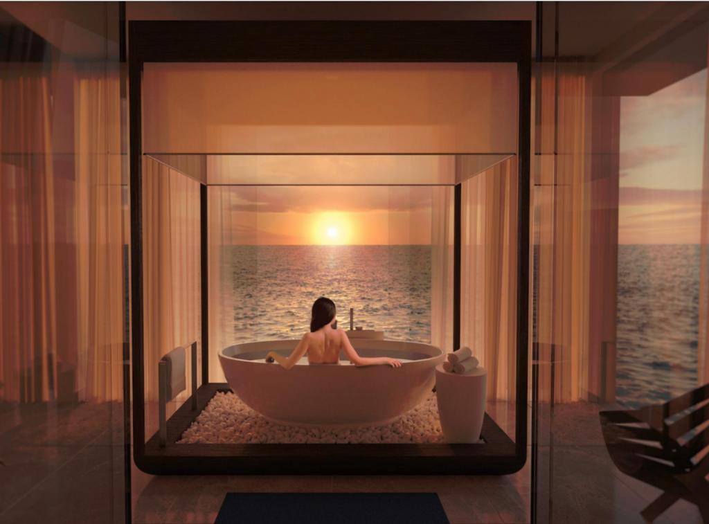 3 миллиона за ночь в отеле с акулами: открылась очень необычная подводная гостиница