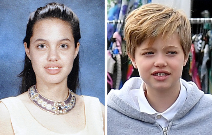 Анджелина Джоли, Бейонсе, Милла Йовович: знаменитости и их дети в одном и том же возрасте (фотоподборка)