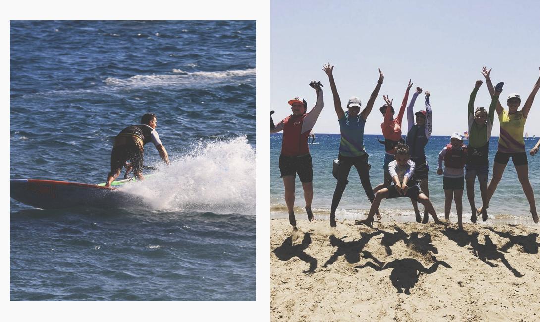 Остров Родос: идеальное место, чтобы обучиться виндсёрфингу