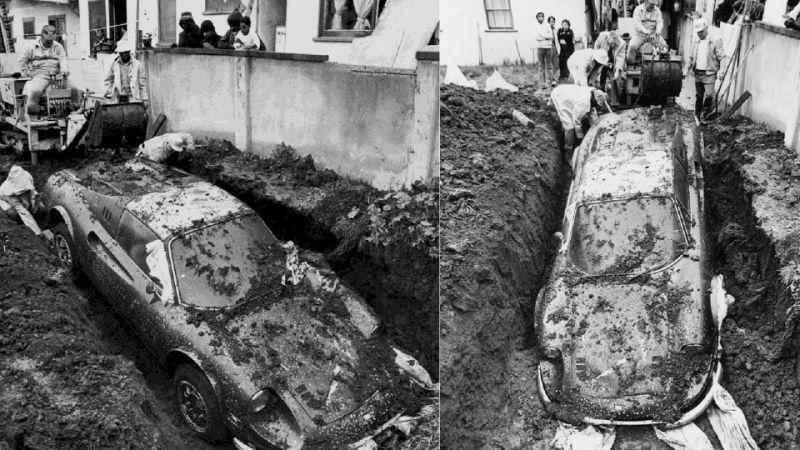 Истории об угнанных автомобилях, которые были найдены через много лет