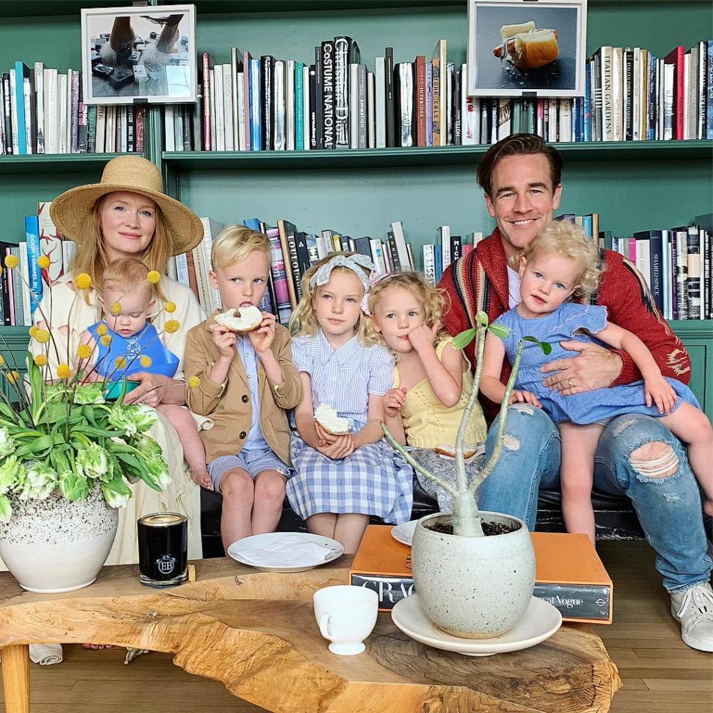Удивительная сила генов: Джеймс Ван Дер Бик и его пятеро очаровательных белокурых детей (фото)