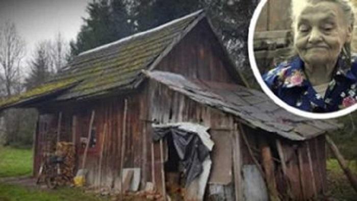 80 летняя старушка жила в полуразрушенной хижине и стеснялась попросить о помощи: когда об этом узнали добрые люди, ее жизнь кардинально изменилась