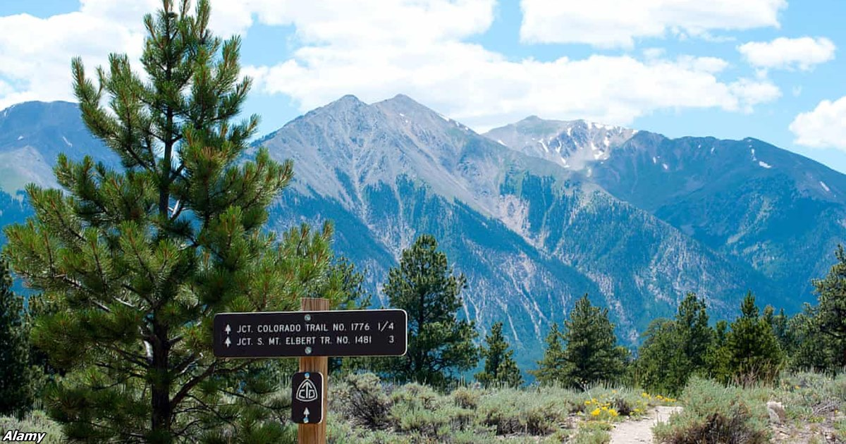 В американских Скалистых горах шёл дождь с частичками пластика