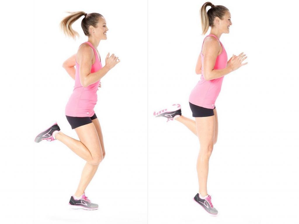Бег упражнения на похудение
