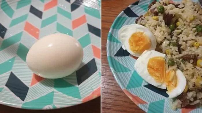 Сосед по даче показал, как можно идеально сварить яйца в электрочайнике