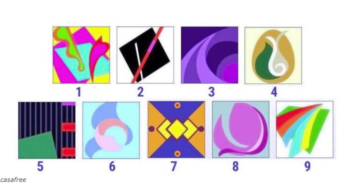Выберите 1 картинку и - и узнаете свое текущее психическое состояние