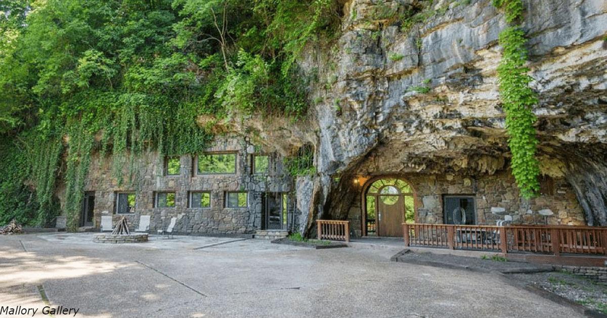 Самая роскошная пещера в мире продается за  2 000 000 долларов. Вот какая она внутри