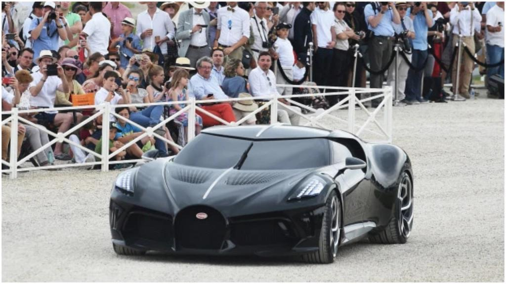Бугатти La Voiture Noire: самый дорогой новый автомобиль в мире, его продали за 15,5 млн фунтов стерлингов