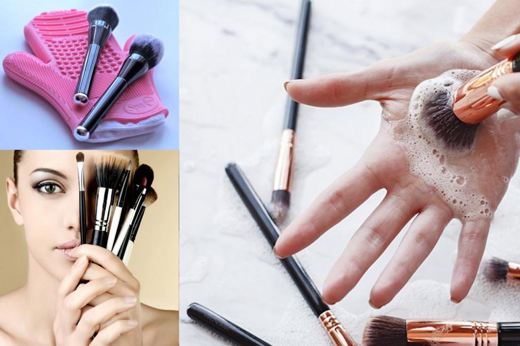По совету подруги-визажиста я всегда чищу кисти для макияжа без химических веществ: рассказываю, чем заменить профсредства и как сделать коврик для чистки