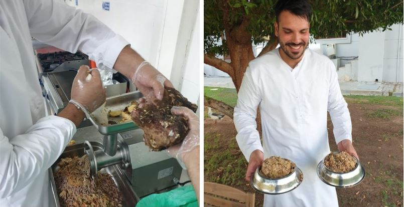 Роскошный отель в Абу-Даби решил проблему с остатками еды в своем ресторане: они отдают ее в приюты для животных