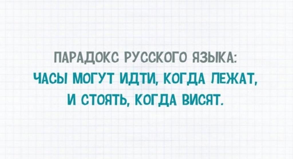 Русский язык в картинках прикольных