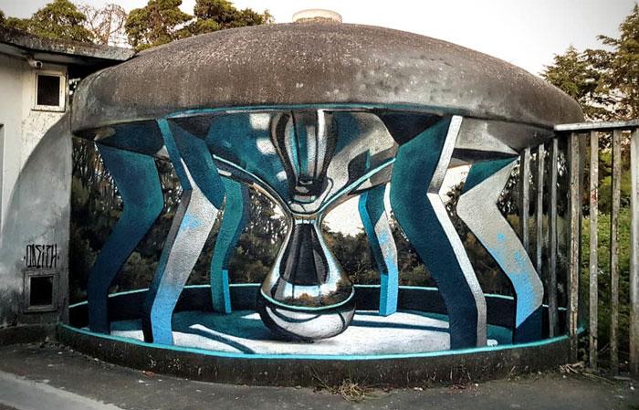 16 потрясающих примеров уличного 3D-искусства