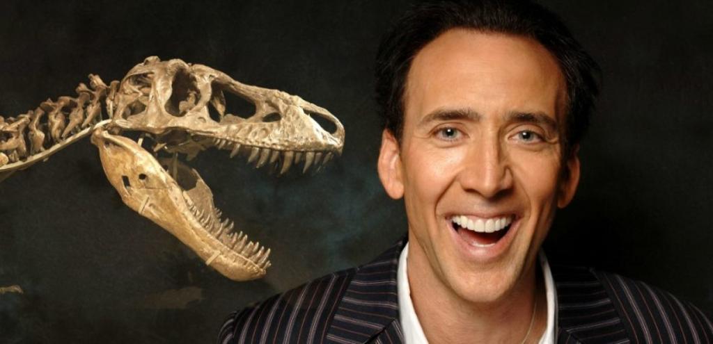 Николас Кейдж потратил 276 000 долларов на покупку черепа динозавра и потерял его