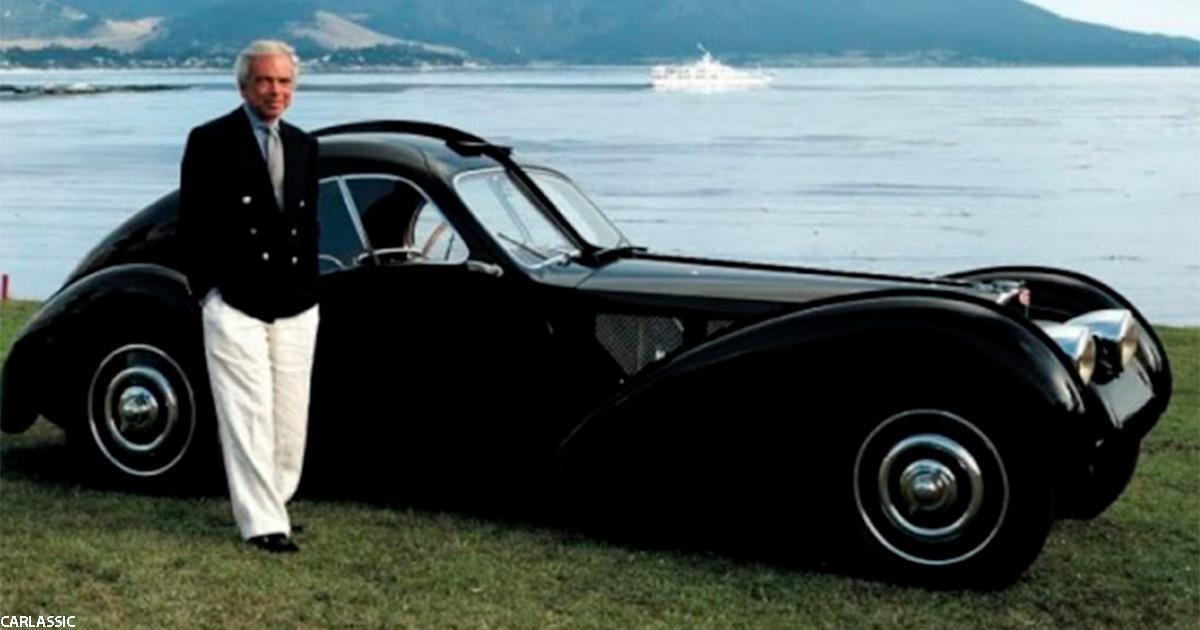 Фотографии великолепного Bugatti 19SC Atlantic Coupe из коллекции Ральфа Лорена