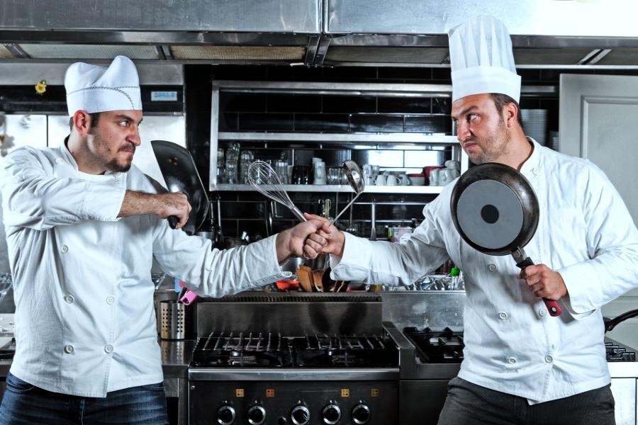 Открытка день, картинки кухни смешные