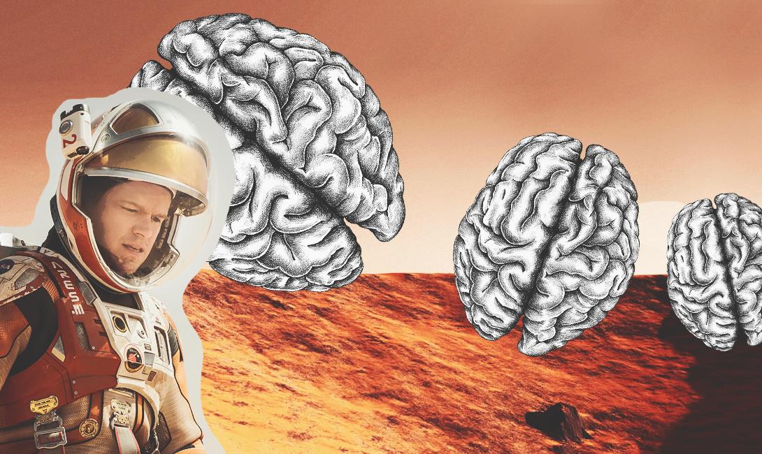 Исследование выявило, что полет на Марс может серьезно повредить мозг