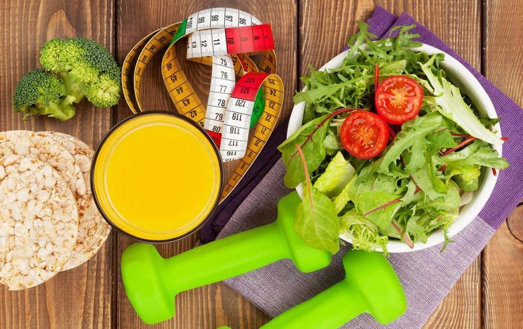 рацион при похудении и тренировках