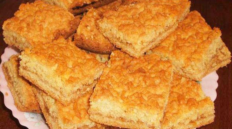Самый простой и вкусный тертый пирог «Каракум»: Получается всегда