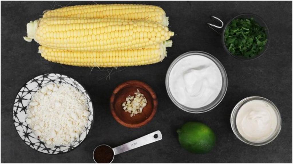Уличная еда по мексикански: кукурузные початки  элоте  (рецепт)