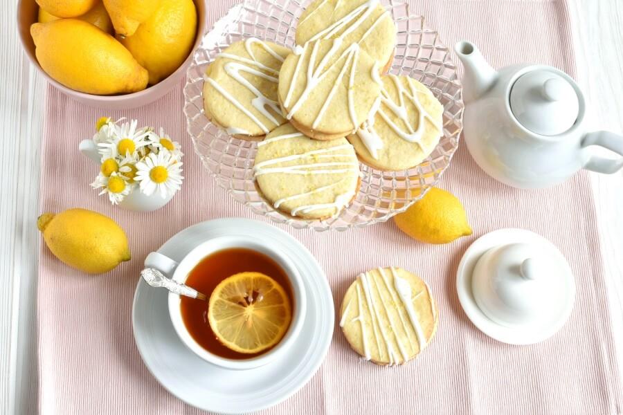 Рецепт вкусного лимонного печенья на каждый день. Семья в восторге