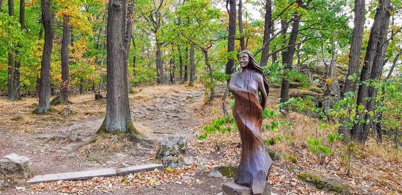 Танцпол ведьм: очаровательное горное плато в Германии притягивает туристов со всего мира