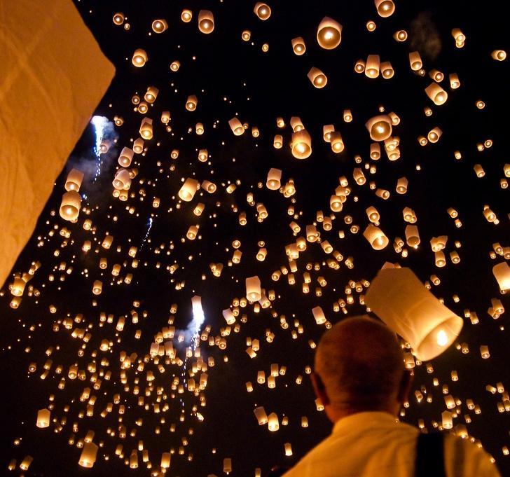 Воздушные фонарики могут стать причиной пожара. Безобидные привычки, которые могут привести к пожарам и другим неприятным последствиям