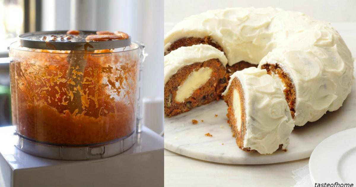 Морковный торт ″Сюрприз″: за обе щеки уминают и взрослые, и дети