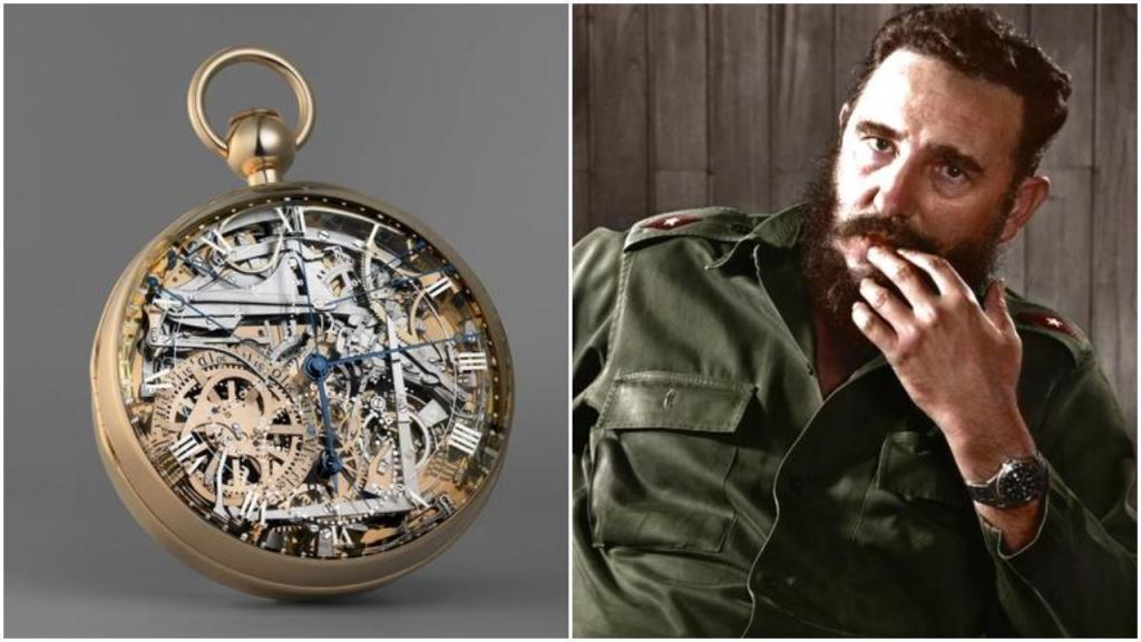 Карманные часы Breguet Марии Антуанетты, Rolex Фиделя Кастро: самые легендарные потерянные часы всех времен