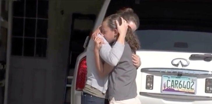 10 летняя девочка сдала полиции свою мать, когда та хотела сесть пьяной за руль