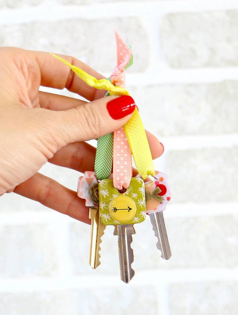 Как я отметила все свои ключи, чтобы больше их не путать