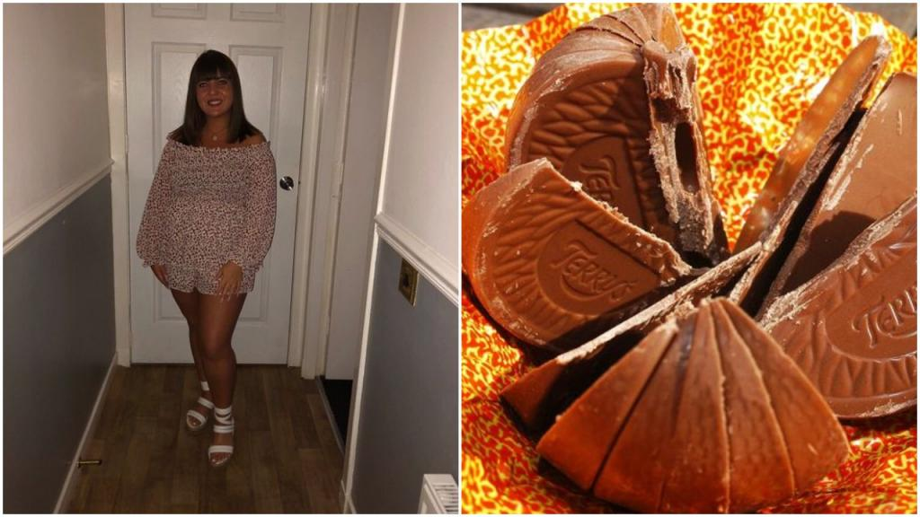 Девушка из Эдинбурга думала, что в дом ломится грабитель, а это ее брат отламывал дольку шоколадного апельсина