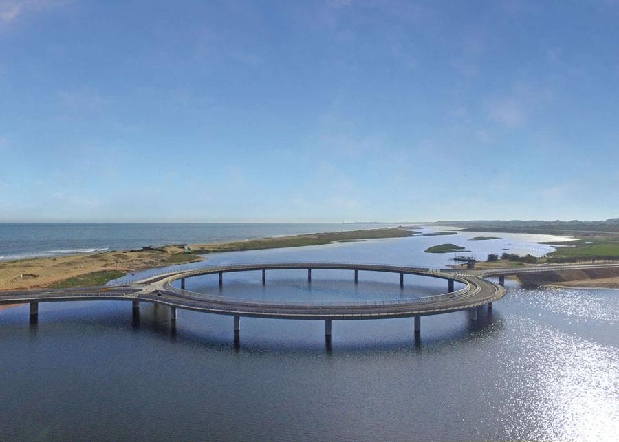 Архитектор, спроектировавший уругвайский круглый мост, объяснил, почему не сделал его прямым
