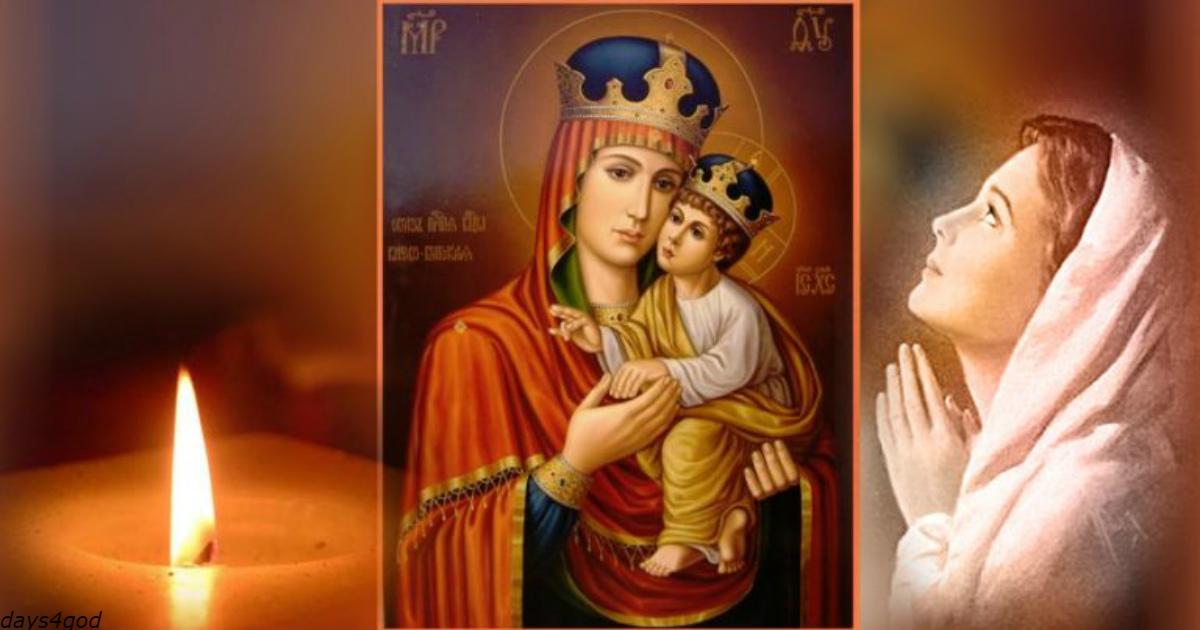 Молитва Богородице, которая ослабляет узлы неприятностей