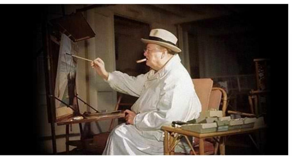 Гитлер вообще начинал как художник: картины величайших лидеров всех времен