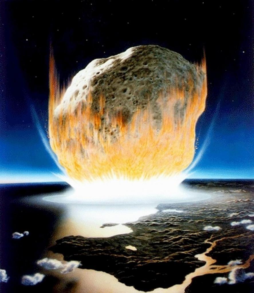 Ученые обнаружили камни, которые  пережили  падение астероида, убившего динозавров 66 миллионов лет назад