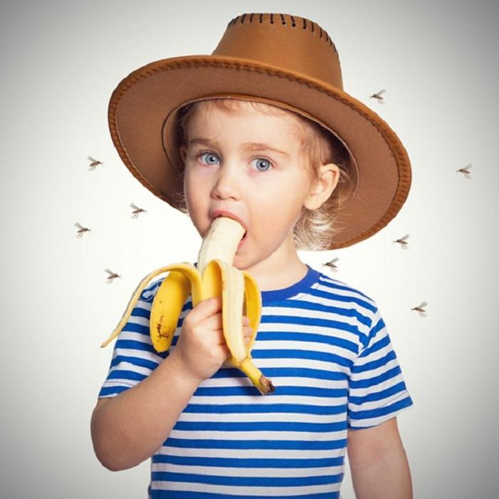 Человека, который только что съел банан, больше кусают комары. Малоизвестные факты о еде