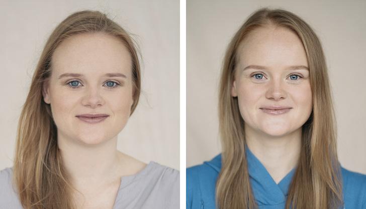 Как беременность меняет женщин: любопытный эксперимент литовского фотографа  до и после  (фото)
