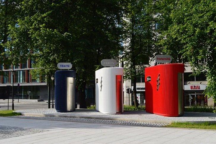 В Америке установят общественные туалеты, которые будут работать на дождевой воде: экологически чистое изобретение